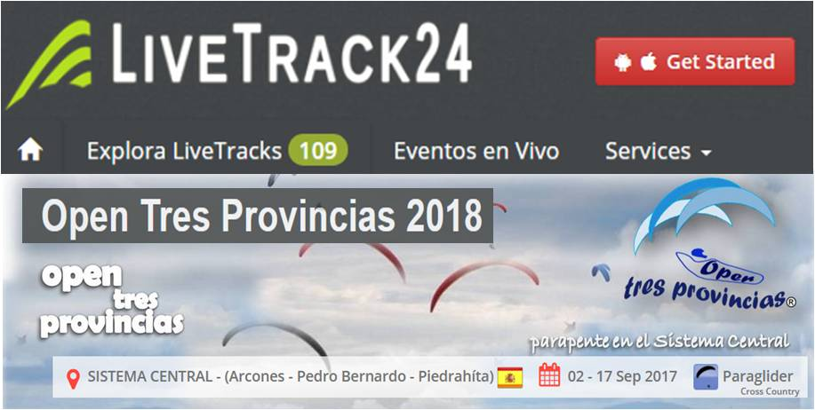 LiveTrack24 - Open Tres Provincias